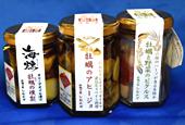 牡蠣の瓶詰め3種