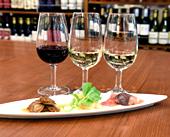 ワイン3種類飲み比べ