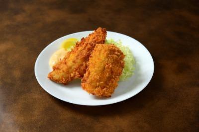 鰺鱧フライ定食