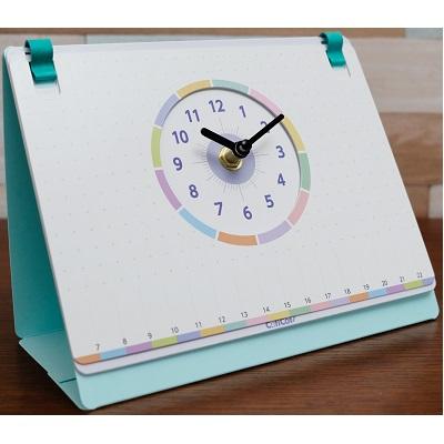 予定や伝言が書き込める卓上時計☆